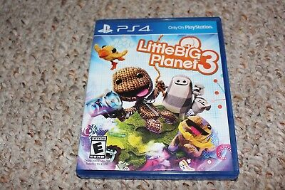 Littlebigplanet 3 (Sony Playstation 4 ps4) Complete