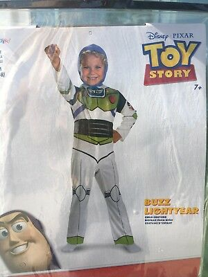 Buzz Lightyear Costume Boys Size 7 Halloween Preowned Toy Story