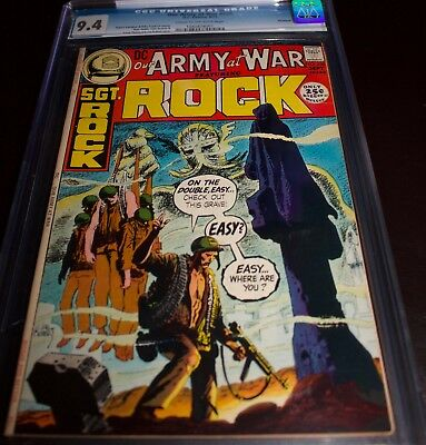 Our Army At War #236 Cgc 9.4 Savannah Copy! 25Ct Giant! Ghostly Joe Kubert Cover