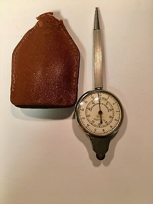 Vintage SELSI Combo Map Measurer Compass Mechanical Pencil Opisometer Germany FP