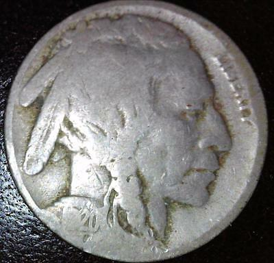 1920-S Buffalo Nickel S Mint 5c US Indian Head Type Coin Value Date Lot S KM 134