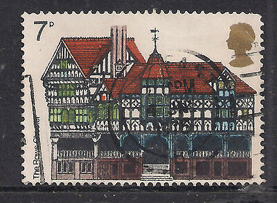 GB 1975 QE2 7p European Architectural Heritage Year SG 976.(M414 )