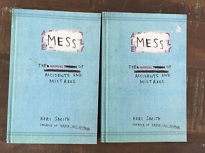 Lot of 2 parent non fiction books activity Mess: Manual of Accidents & Mistakes