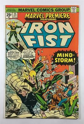 Marvel Premiere #25 in 6.5 Fine+ Condition - First Byrne Iron Fist
