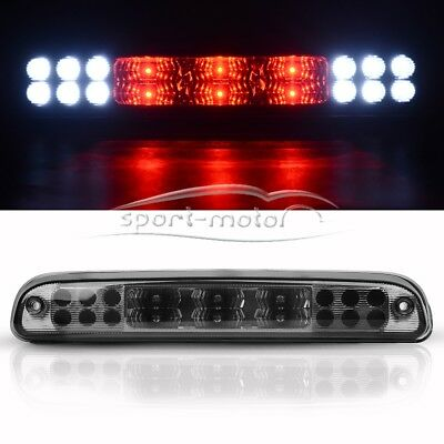 for 99-16 Ford F-250 F-350 F-450 LED Smoke Rear 3rd Third Stop Brake Cargo Light