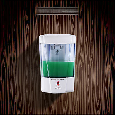 Sensor Soap Dispenser Sanitizer Bathroom Wall Mounted Automatic 9031HC