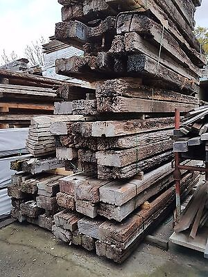 Redgum Railway sleepers  approx  2.9m  300x150 varying condition  $80 ea