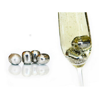 NEW D. Line Bartender Stainless Steel Wine Pearls, Set of 4