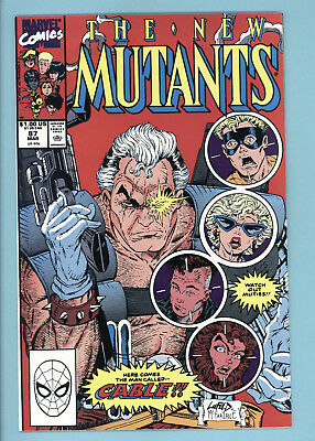 New Mutants #87 1st Cable!!!