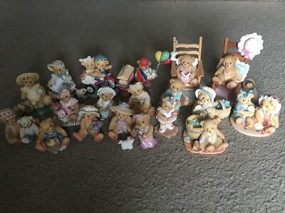Cherished Teddies Lot Of 19 Pieces