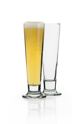 NEW Ecology Classic Pilsner Glasses Set of 4