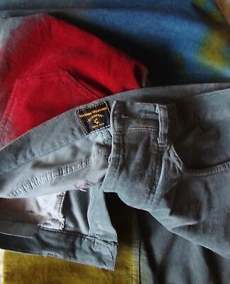 TROUSERS man vintage 80's VIVIENNE WESTWOOD Anglomania 46-M NEW! made in Italy