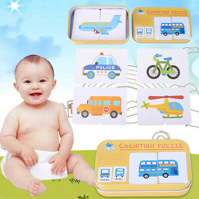 Kids Baby Matching Cards Puzzle Game Preschool Educational Toy For Child ren Set