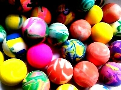 10-50 Pcs Bouncy Jet Balls Birthday Party Loot Bag Toy  Fillers Fun For Kids  CP
