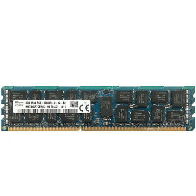 Hynix 32GB 4x8GB 2Rx4 PC3-10600R DDR3 1333MHz 240Pin ECC REG Server Memory RAM