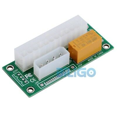 Add2PSU Dual Power Supply Connector Adapter Relay Link Multiple Module Board【UK】