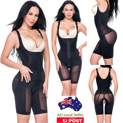 Women Body Shaper Thigh Slimmer Waist Trainer Cincher Corset Bodysuit Shapewear