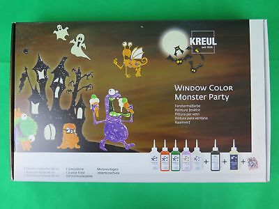Kreul Window Color Monster Party Set