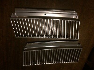 Holden Hd Hr Wiper Grilles Vent Cowl Panels Powdercoated Chrome/Clear