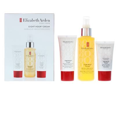 Elizabeth Arden Eight Hour Cream Miracle Moisturizers Gift Set For Her