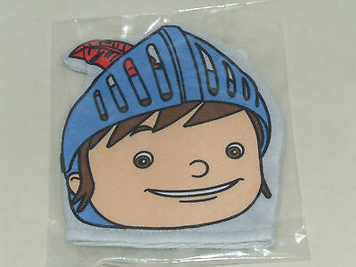 Job Lot X 12 Mike The Knight Wash Mitt Flannel Puppet New Sealed