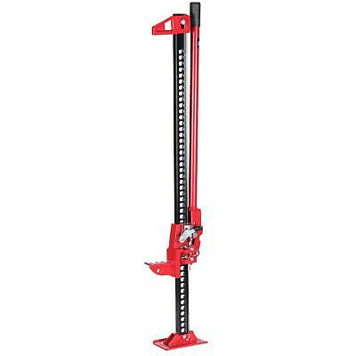 "161195 Heavy Duty 48"" High Lifting Ratchet Farmers Farm Jack For Tractors Trucks"