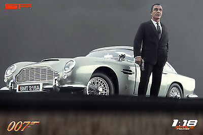 1/18 James Bond 007 Sean Connery VERY RARE!!! figures for 1:18 Autoart CMC