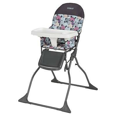 Cosco Simple Fold High Chair in Elephant Puzzle