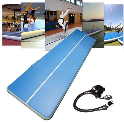 3-12M Inflatable  Floor Air Tumbling Track Gymnastics Practice Training Mat SL