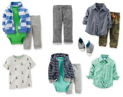 NEW Wholesale Mixed Lot 100 Assorted Boys Children Clothing Infant Toddlers NB-4