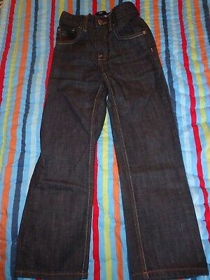 Next Boys Jeans Age 8 Years New Dark Blue Straight Fit