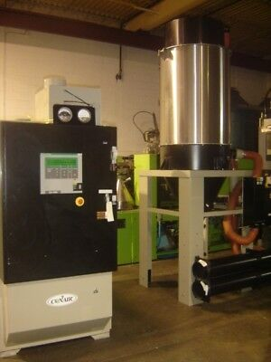 Conair Drying system with six hoppers with process heaters -