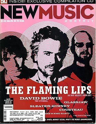 The Flaming Lips - New Music Monthly Mag 66 Pages - Includes 1 Cd - Never Played