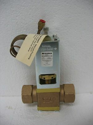"Metrex WCCW-3080-DSE 1""Water Regulator Valve 50-225 psi New"