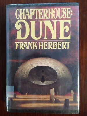 Chapterhouse: Dune by Frank Herbert (1985, Hardcover) Ex Library Book 6