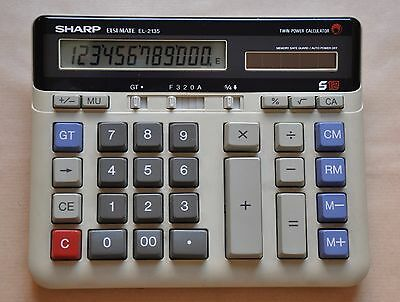Calculadora SHARP Elsi Mate EL-2135