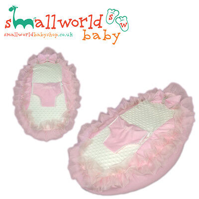 Personalised Girls Pink Frilly Bling Baby Bean Bag (NEXT DAY DISPATCH)