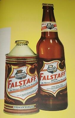 Falstaff Cone Top Advertising & Assorted Falstaff Items