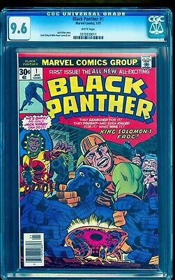 Black Panther #1 Cgc 9.6  White Pages **movie Feb 2018**