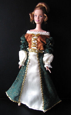 """Barbie Discover The World Of Romania Doll And Outfit """" Collectable """""""