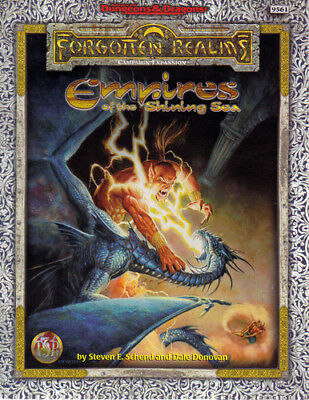 Empires of the Shining Sea | Forgotten Realms | Box Set | AD&D II | nearly new