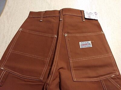 Vintage Carter's Watch The Wear Carpenter Work Pants Sanforized Size 32 x 30 NWT