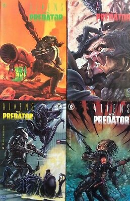 Aliens Vs Predator #1,2,3,4