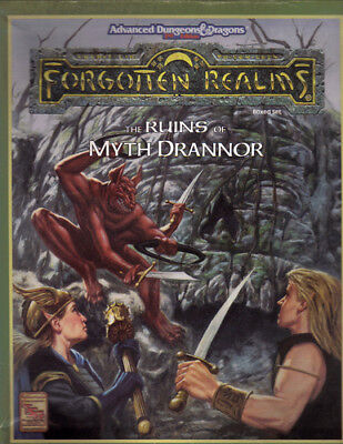 The Ruins of Myth Drannor | Forgotten Realms | Boxed Set | AD&D II | AS NEW