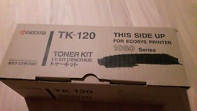 Kyocera TK-120 Toner Kit Ecosys Printer 1030 Series neuwertig Original