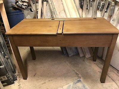 Vintage Children's Double School Desk