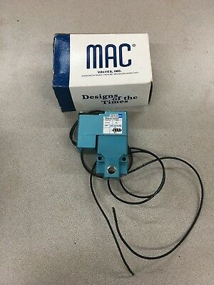 New In Box Mac Pneumatic Solenoid Valve 225B-611Aaad