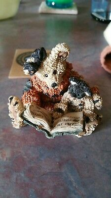 Boyds Bears & Friends The Bearstone Collection Agatha & Shelly Scardy Cat