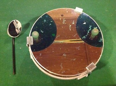 Vintage Edmund Telescope Mirrors (6) Inch Primary And Smaller Secondary