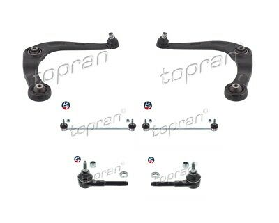 2x TRIANGLE DE SUSPENSION+BIELLETTE+ROTULE DIRECTION AVANT PEUGEOT 206 PHASE 2